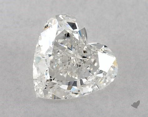 1.00 Carat F-SI1 Heart Shape Diamond