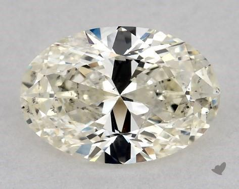 1.02 Carat K-SI2 Oval Cut Diamond