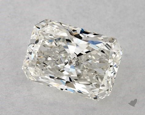 0.71 Carat H-SI1 Radiant Cut Diamond