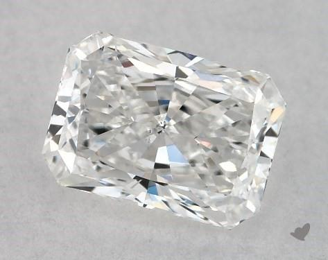 0.70 Carat E-SI2 Radiant Cut Diamond
