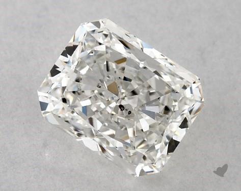0.81 Carat G-SI2 Radiant Cut Diamond