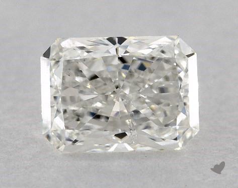 0.70 Carat G-SI1 Radiant Cut Diamond