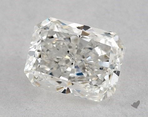 0.80 Carat G-SI2 Radiant Cut Diamond