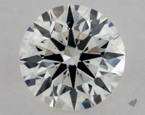 0.54 Carat G-VS2 Excellent Cut Round Diamond