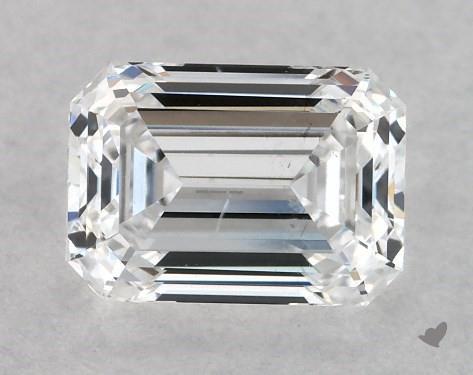0.70 Carat D-SI1 Emerald Cut Diamond