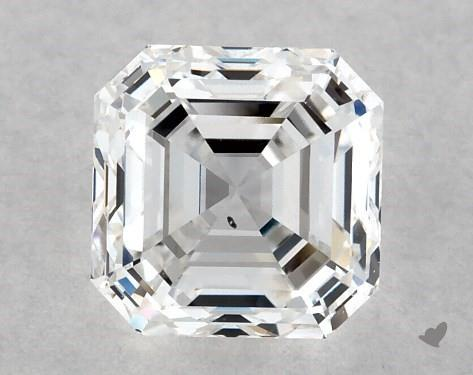 1.01 Carat E-SI1 Square Emerald Cut Diamond