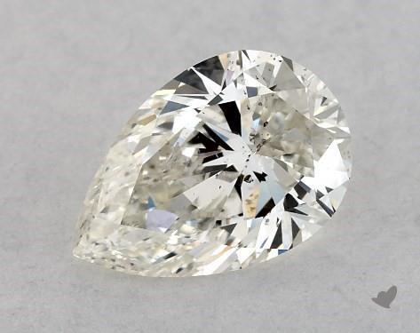 0.70 Carat I-SI2 Pear Shape Diamond