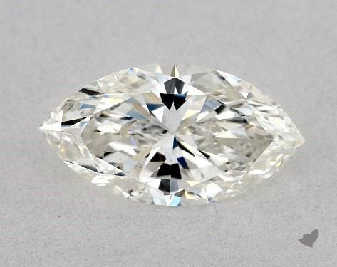0.80 Carat I-SI1 Marquise Cut Diamond