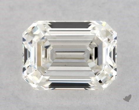0.80 Carat I-VS1 Emerald Cut Diamond