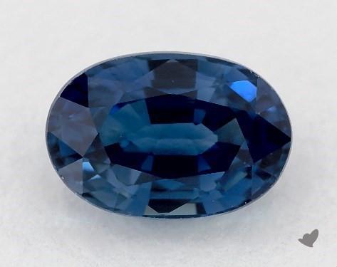 0.75 carat Oval Natural Blue Sapphire