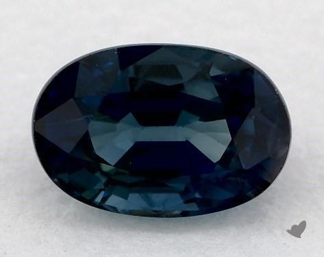 <b>0.70</b> carat Oval Natural Blue Sapphire
