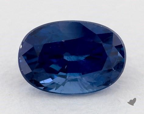 0.79 carat Oval Natural Blue Sapphire