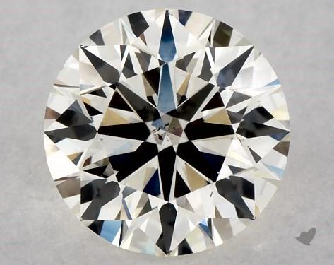 0.71 Carat K-SI1 Excellent Cut Round Diamond