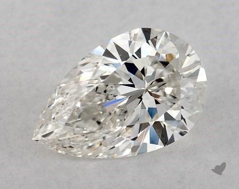 1.07 Carat G-VS1 Pear Shape Diamond