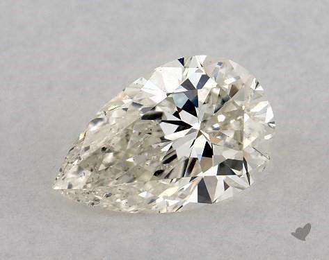 0.70 Carat K-SI1 Pear Shape Diamond
