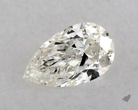 0.71 Carat I-SI1 Pear Shape Diamond