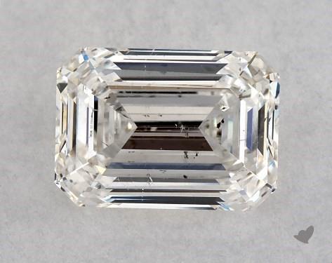 0.91 Carat H-SI1 Emerald Cut Diamond