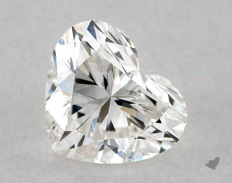 0.75 Carat H-VS2 Heart Shape Diamond