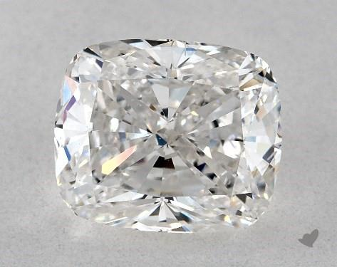1.71 Carat F-SI1 Cushion Cut Diamond