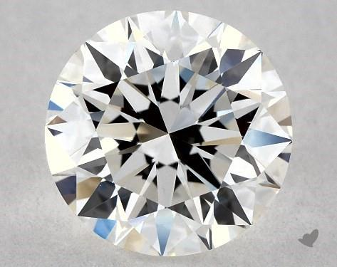 1.08 Carat H-VS1 Excellent Cut Round Diamond