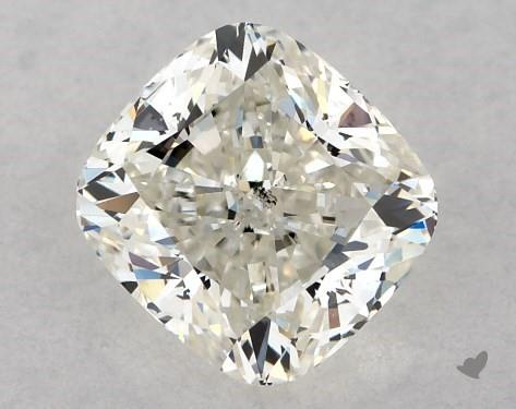 0.71 Carat J-SI1 Cushion Modified Cut Diamond