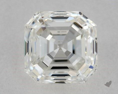 1.32 Carat H-VS1 Asscher Cut Diamond