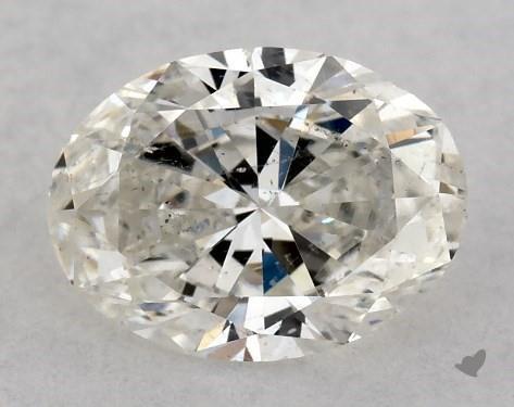 0.70 Carat I-SI2 Oval Cut Diamond