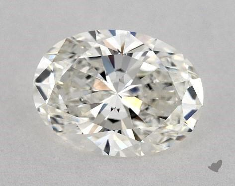 3.05 Carat H-VS2 Oval Cut Diamond