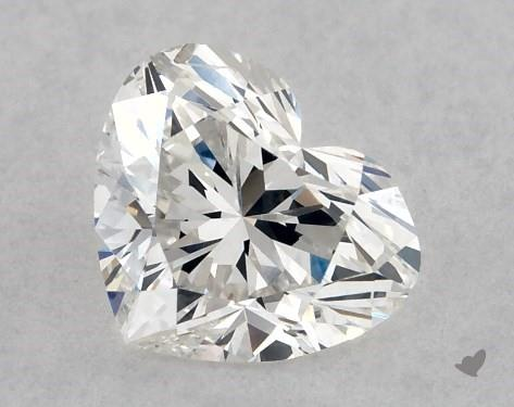 0.73 Carat G-SI2 Heart Shape Diamond