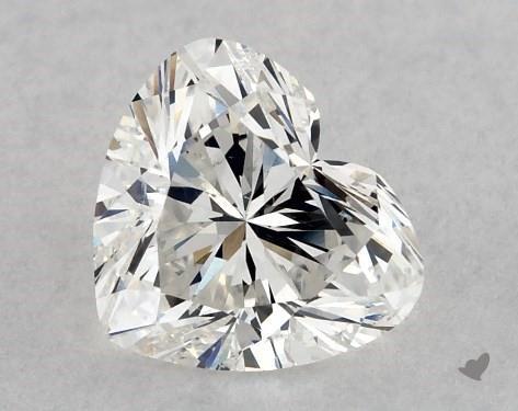 0.72 Carat G-SI2 Heart Shape Diamond