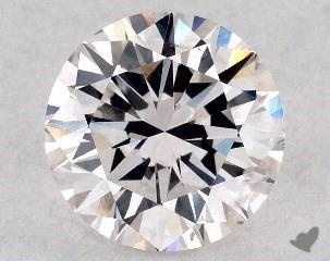 1.00 Carat pink-SI2 Round Cut Diamond