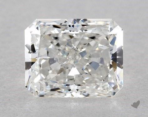 0.73 Carat F-SI2 Radiant Cut Diamond