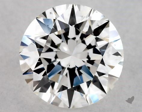 1.00 Carat G-VS2 Excellent Cut Round Diamond