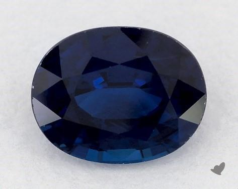0.77 carat Oval Natural Blue Sapphire