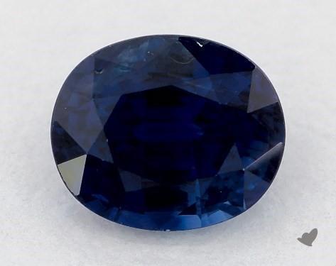 0.81 carat Oval Natural Blue Sapphire