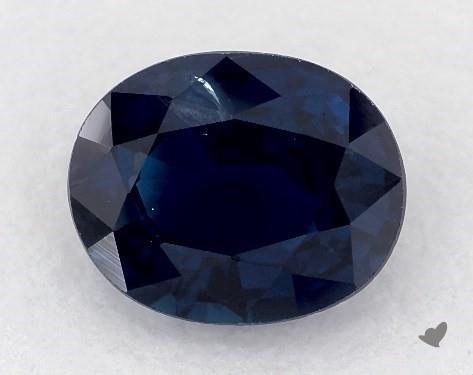 0.85 carat Oval Natural Blue Sapphire