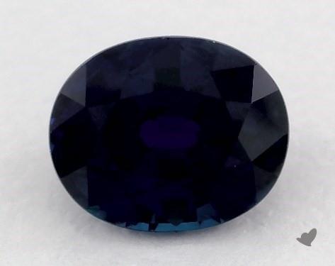0.86 carat Oval Natural Blue Sapphire