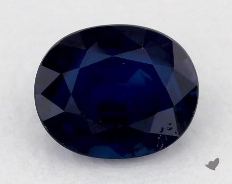 0.80 carat Oval Natural Blue Sapphire