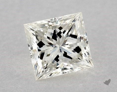 0.71 Carat J-SI1 Ideal Cut Princess Diamond