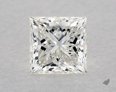0.83 Carat H-I1 Ideal Cut Princess Diamond