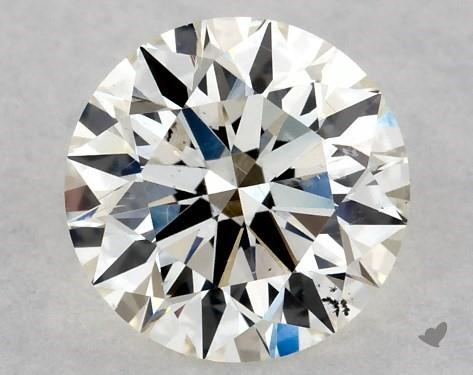 0.72 Carat K-SI2 Excellent Cut Round Diamond