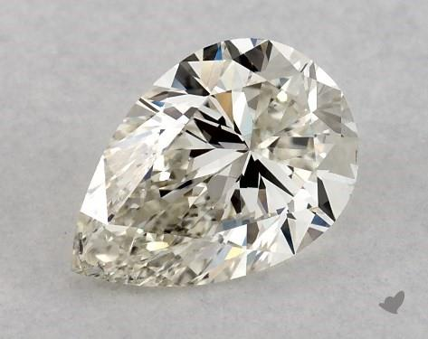 0.51 Carat J-SI1 Pear Shape Diamond