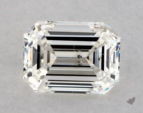1.22 Carat H-SI1 Emerald Cut Diamond