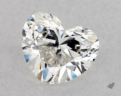 1.03 Carat H-SI1 Heart Shape Diamond
