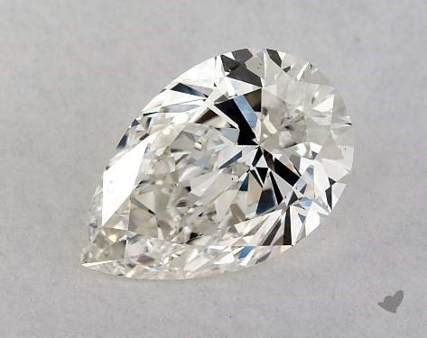 0.75 Carat H-VS2 Pear Shape Diamond
