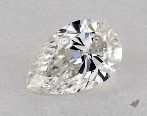 0.92 Carat H-VS2 Pear Shape Diamond