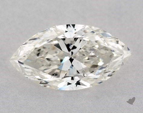 0.81 Carat J-SI2 Marquise Cut Diamond
