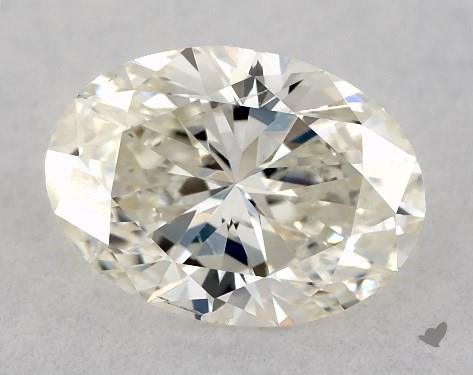 0.50 Carat K-SI2 Oval Cut Diamond