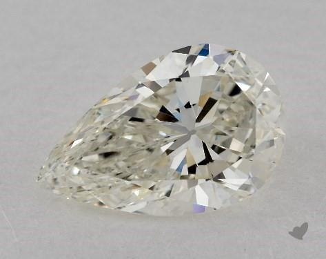 1.51 Carat K-VS1 Pear Shape Diamond