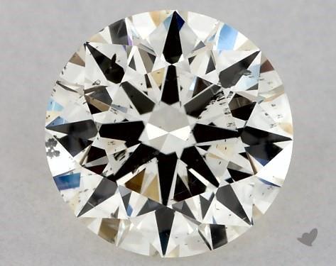 0.75 Carat K-SI2 Excellent Cut Round Diamond